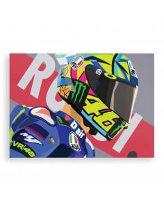 Affiche Valentino Rossi...