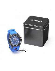 Montre Yamaha silicone bleu