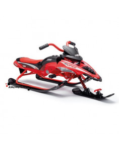 Luge Yamaha Motoneige rouge