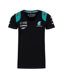 T-shirt Yamaha Petronas femme